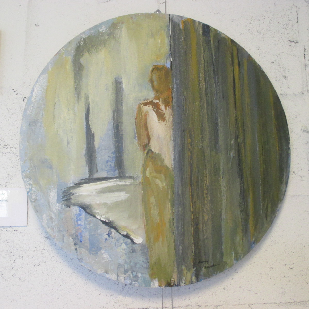 Woman Waiting (SOLD)